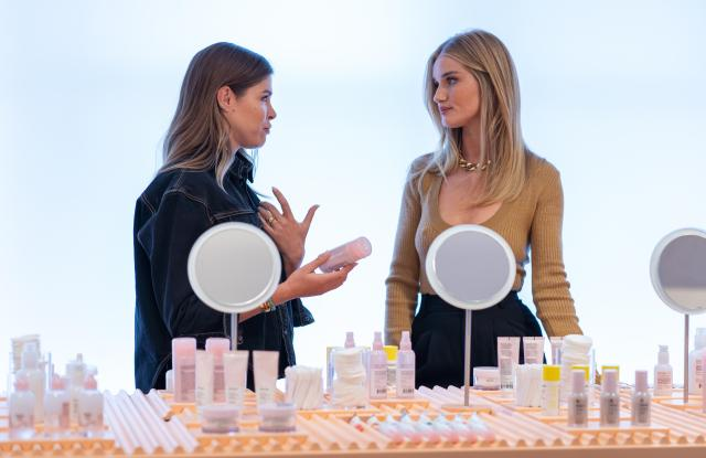 Rosie Huntington-Whiteley About Face