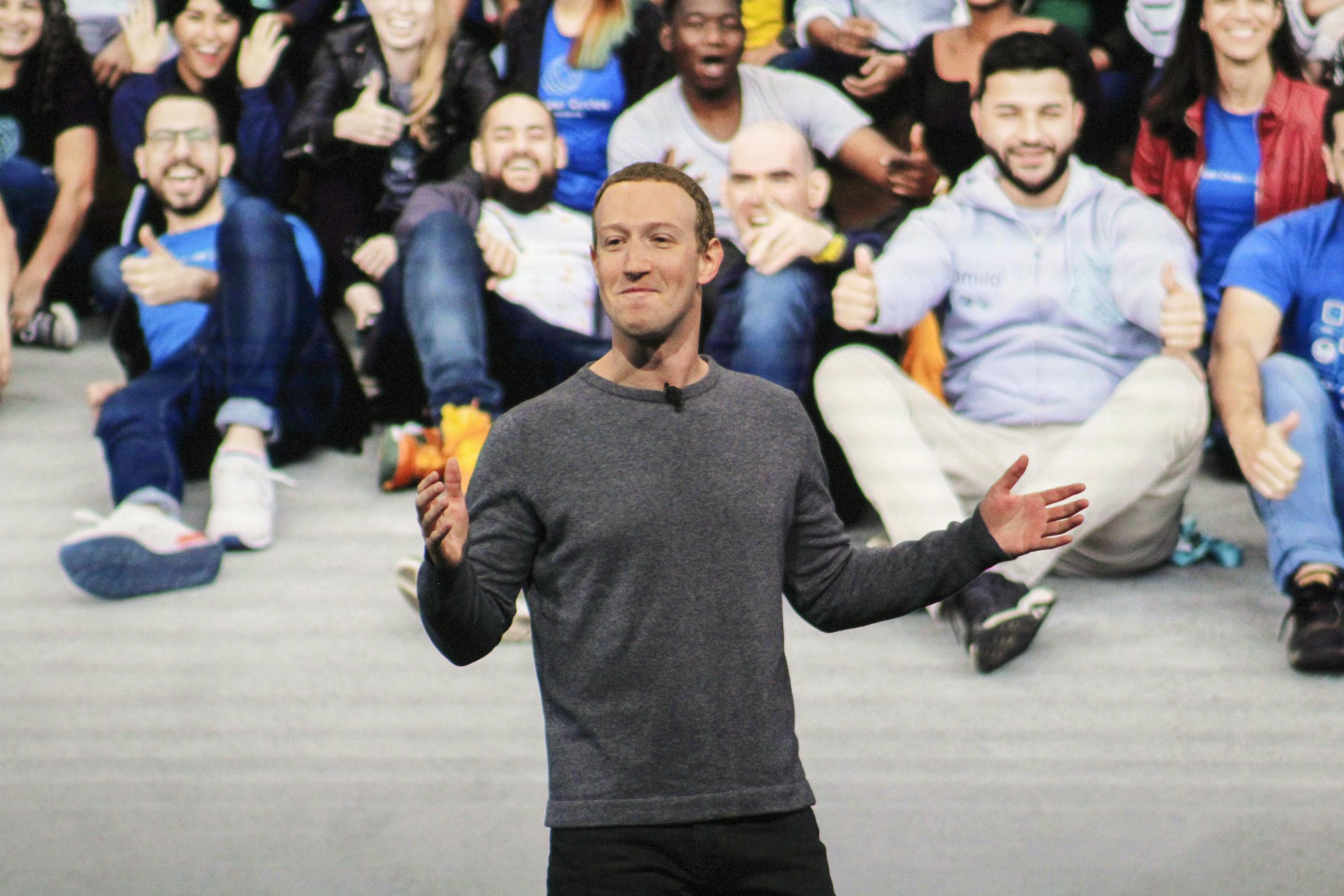 Facebook CEO Mark Zuckerberg 2019