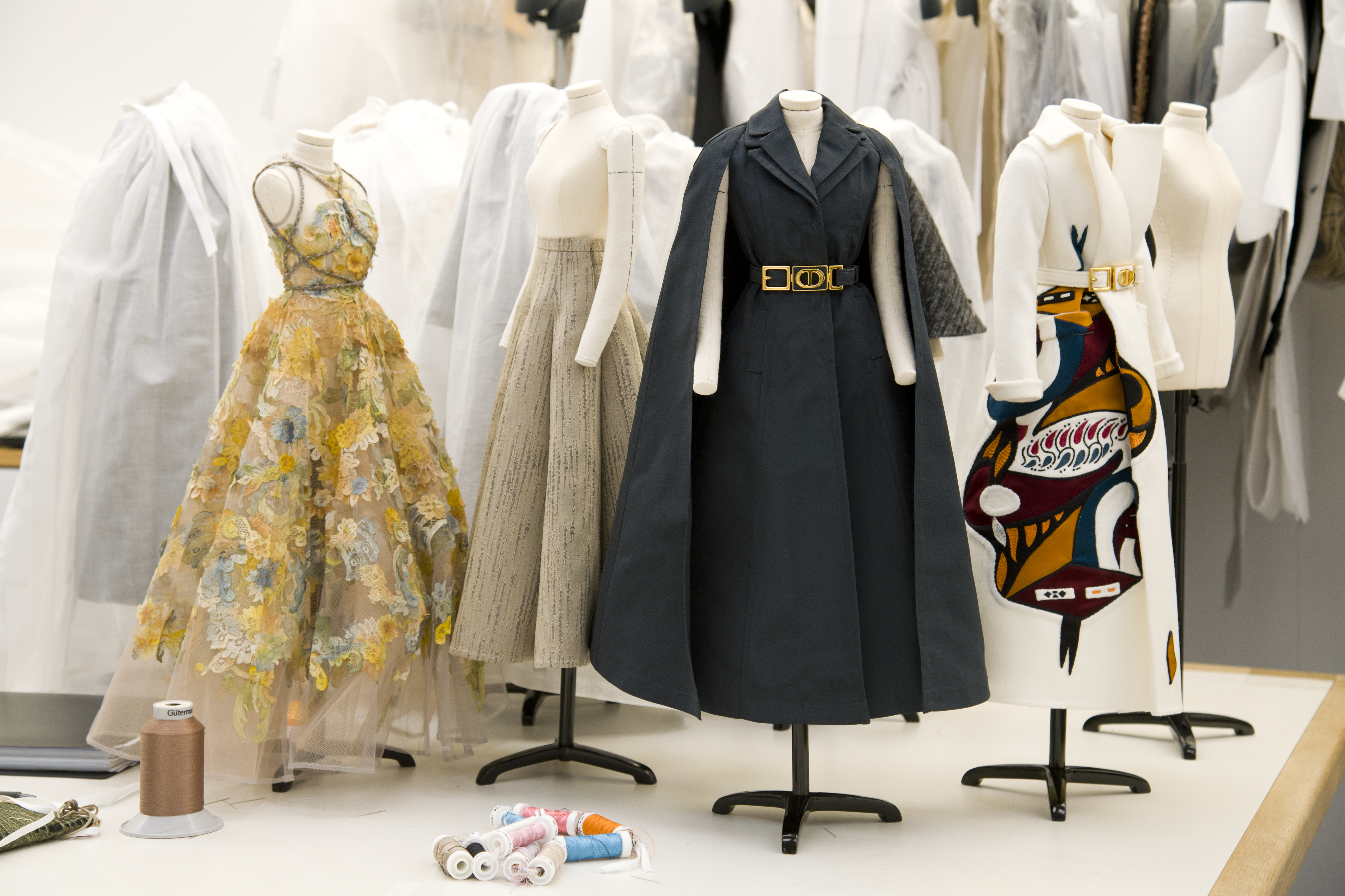 Small-scale dresses from Dor's fall haute couture collection.