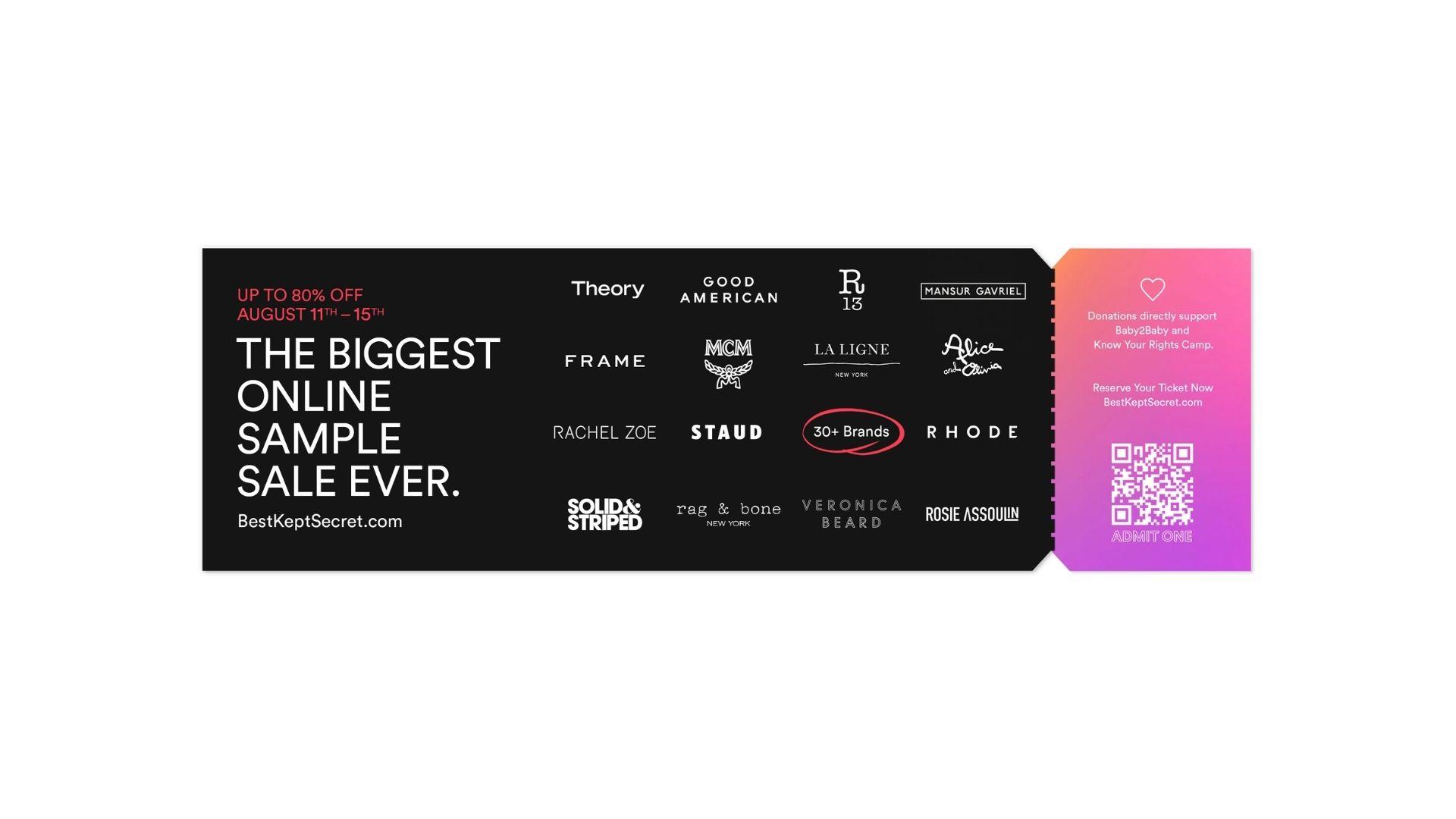 BKS ticket stub