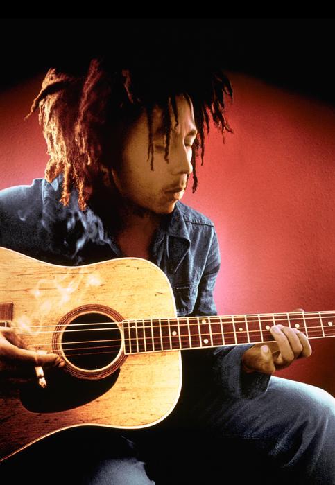 Bob Marley in Wrangler.