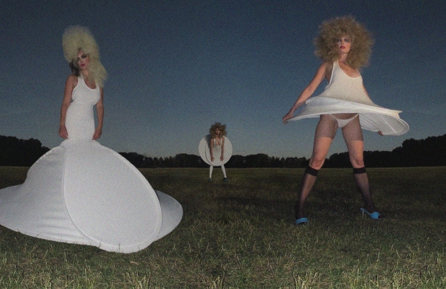 An image from Bradley Sharpe's UAL graduate collection.