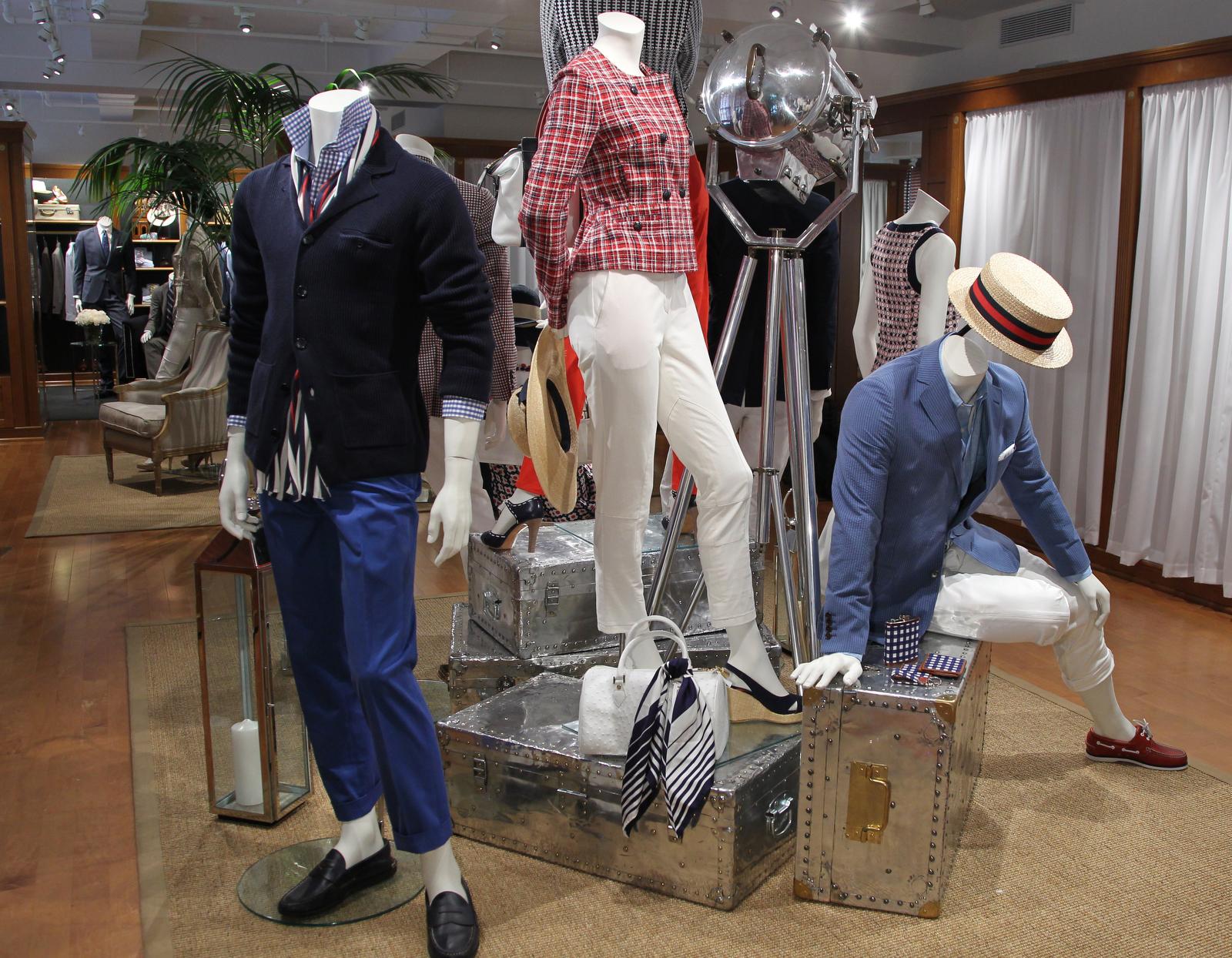 Brooks Brothers Spring 2013 Menswear