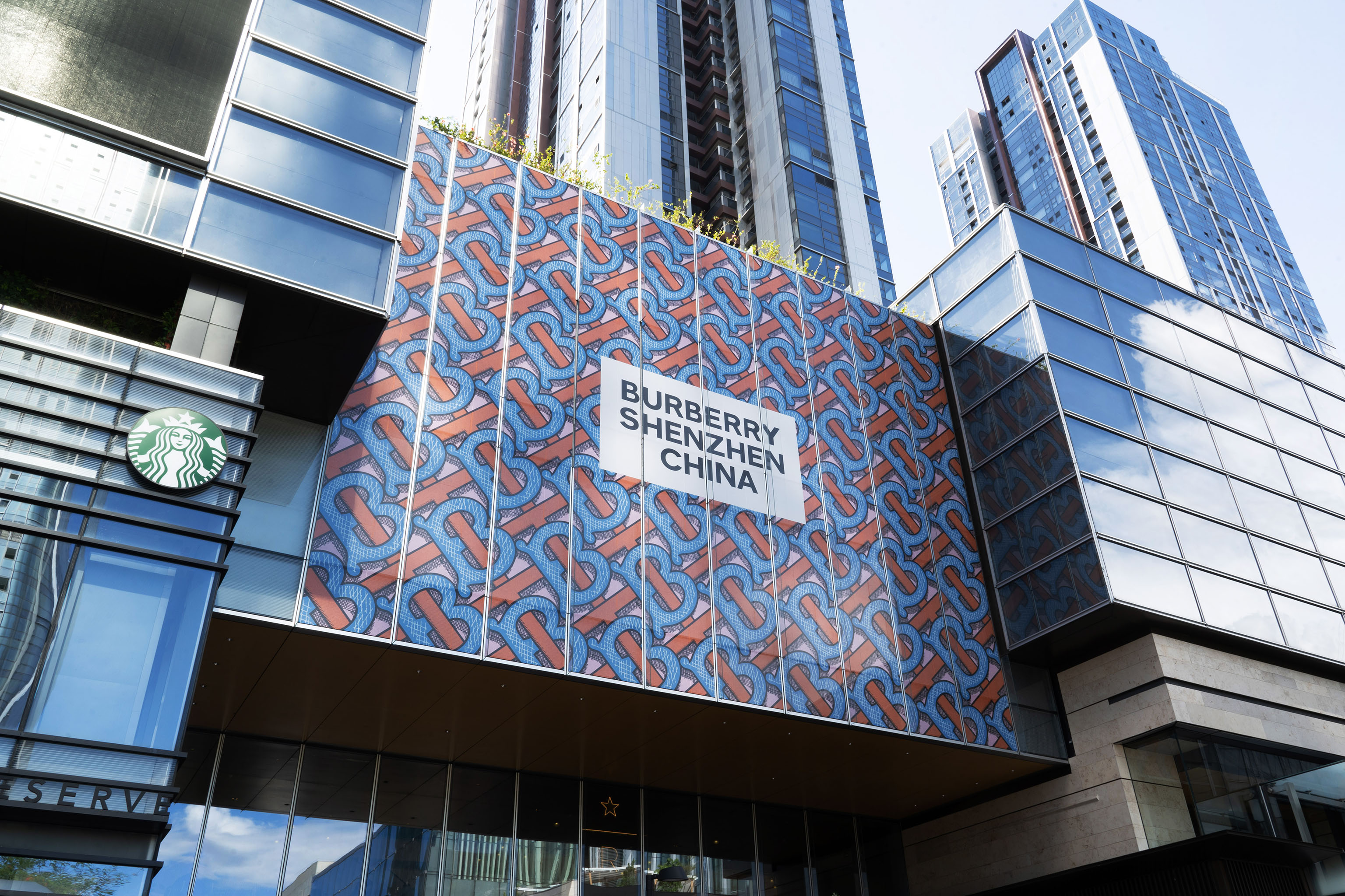 The Burberry store in Shenzhen, China.