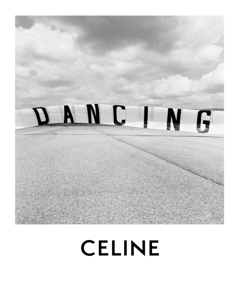A teaser image on Celine's Instagram account.