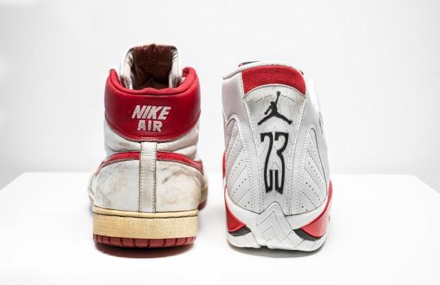 The Nike Air Ship and Air Jordan IV sneakers