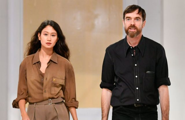 Sarah-Linh Tran and Christophe Lemaire