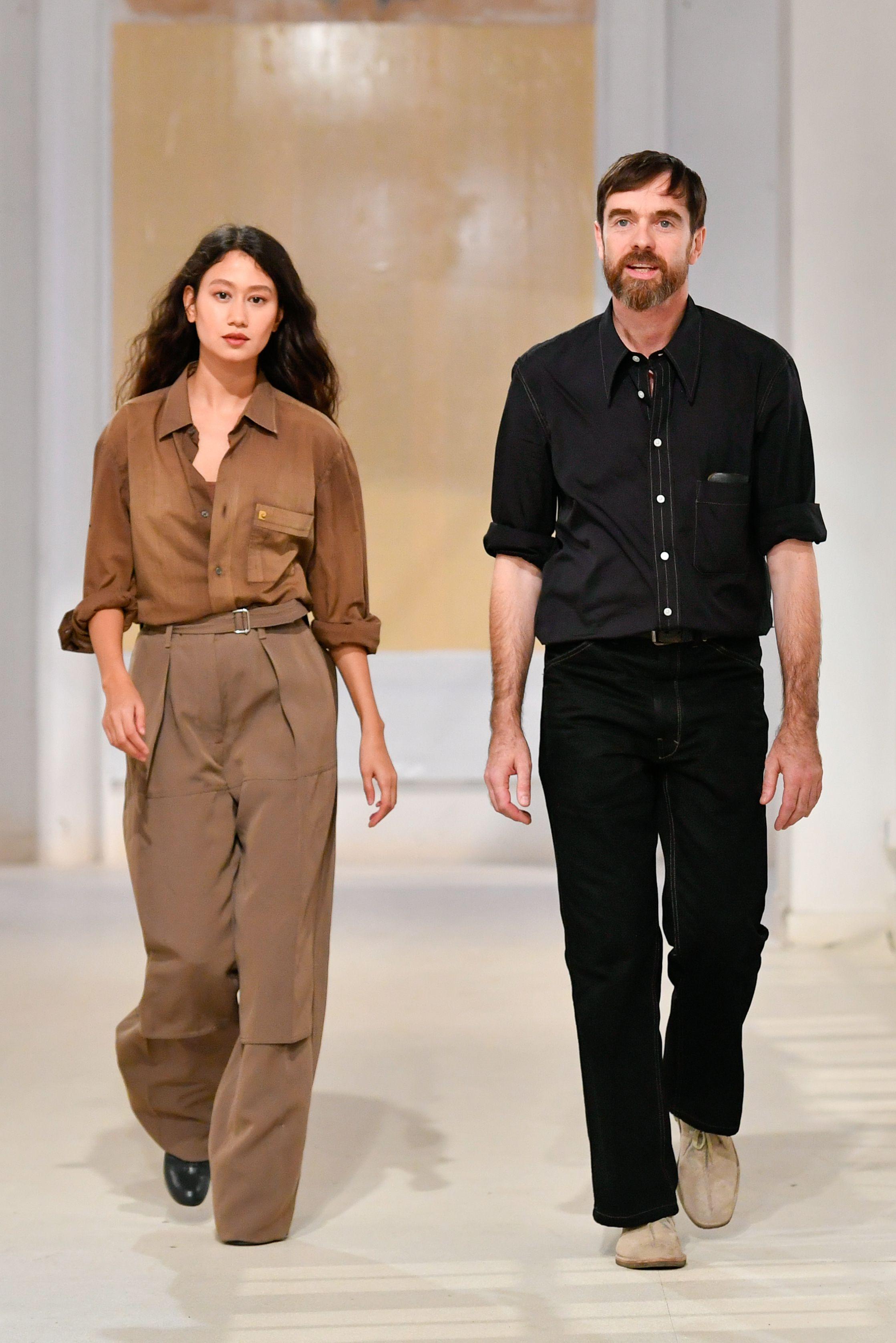 Sarah-Linh Tran and Christophe Lemaire