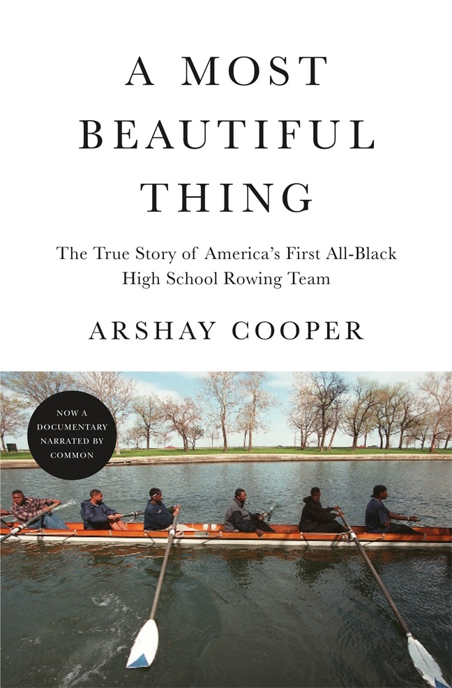 A Most Beautiful Thing book cover.