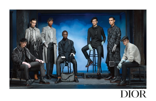 The Dior men's fall 2020 ad campaign.