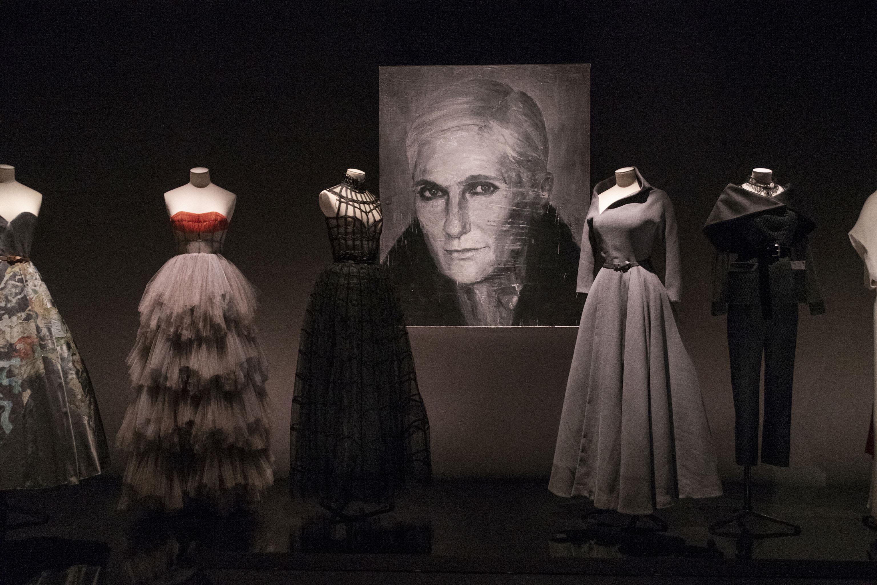 Dior's 'Designer of Dreams' exhibition in Shanghai.