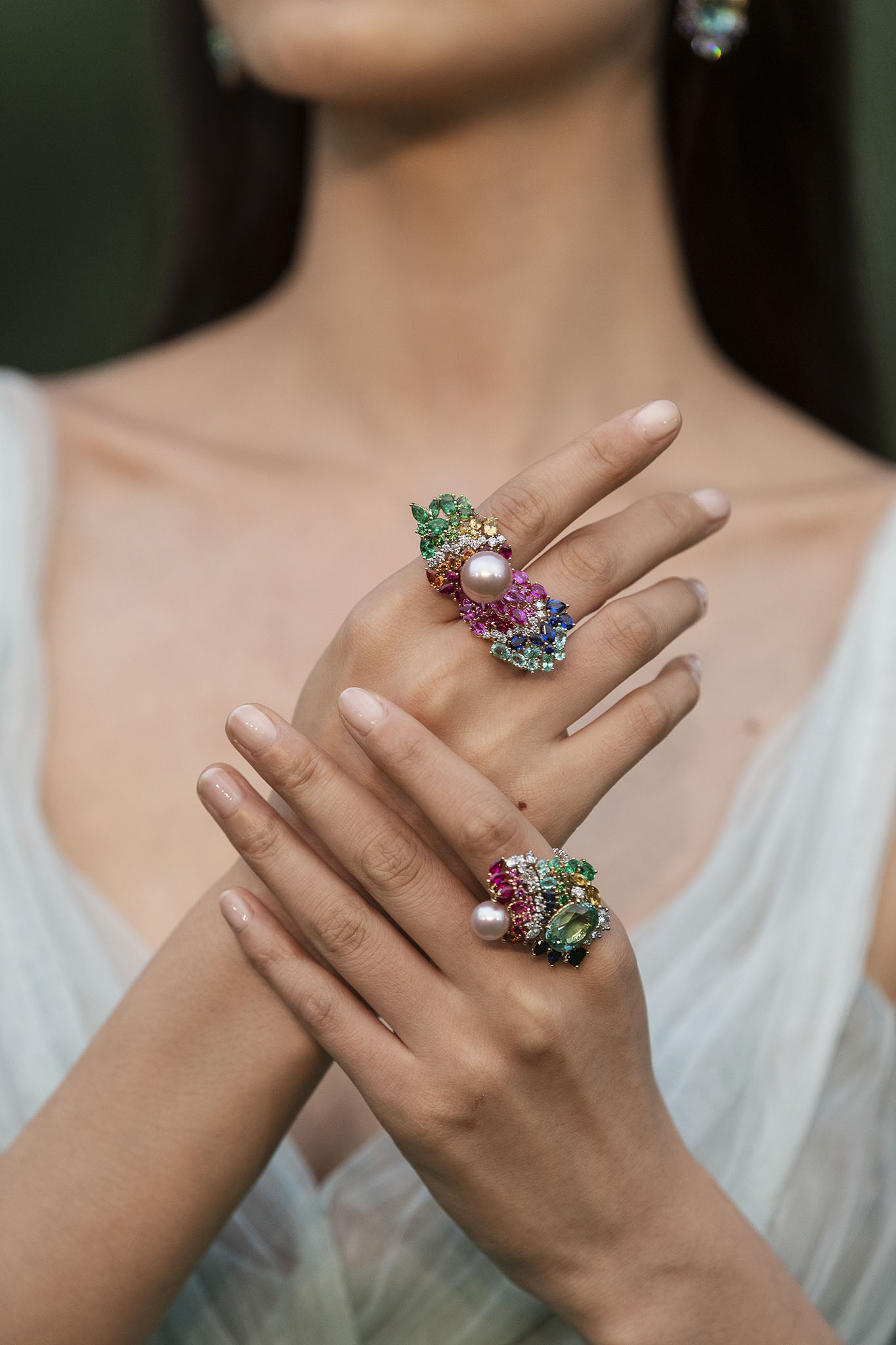 Dior's High Jewelry Collection presentation in Shanghai.