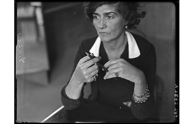 Coco Chanel in the Thirties.