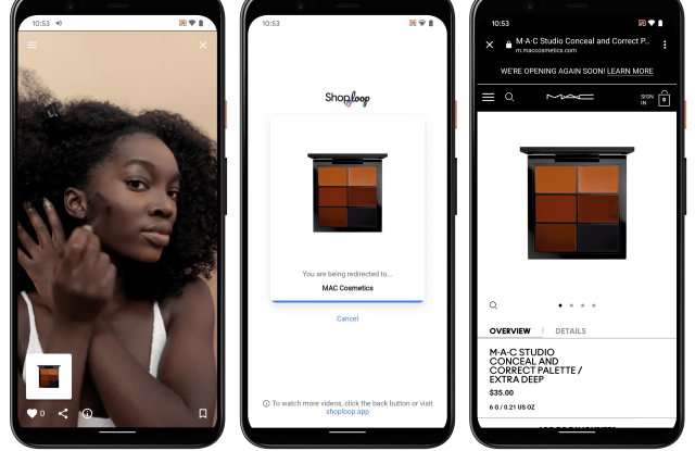 Google introduces Shoploop, an experiment focusing on social video shopping on mobile.
