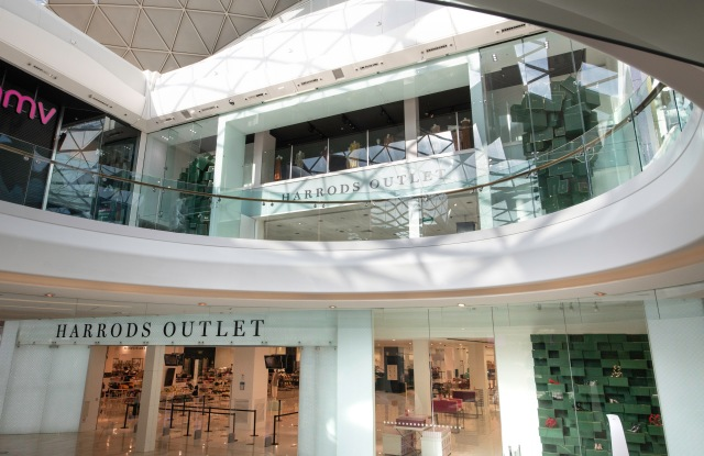 The new Harrods Outlet at Westfield London.