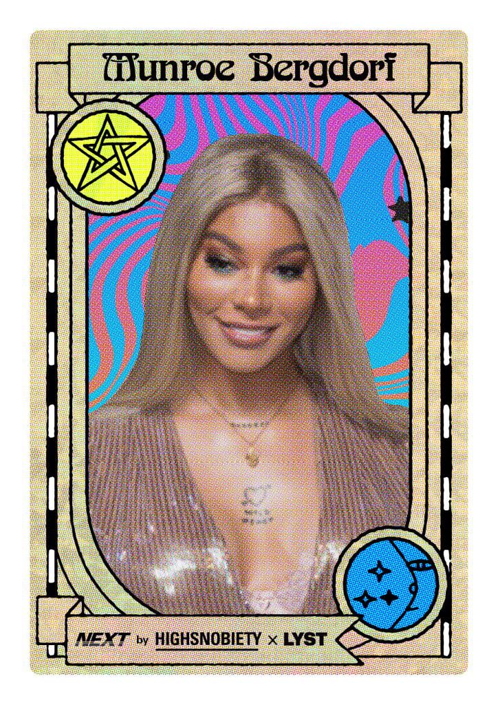 Munroe Bergdorf features in Highsnobiety and Lyst's 'Next 20'