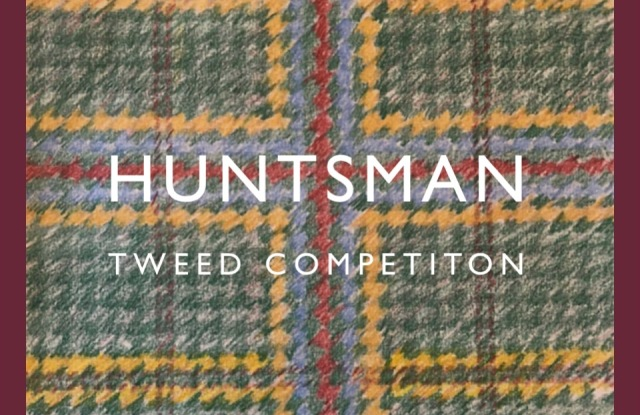 Huntsman's Design Your Own Tweed contest winner.