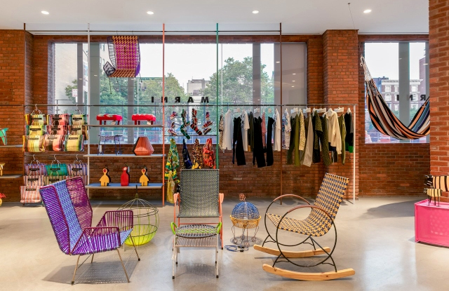 The Marni Meatpacking Market store.