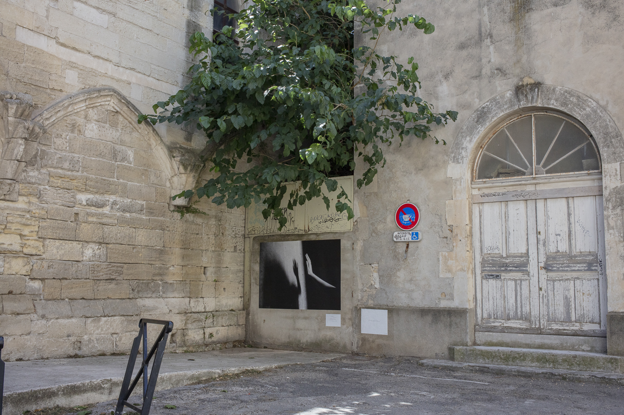 """A photo by Dominique Issermann, part of the """"Images Perdues"""" exhibition in Arles"""