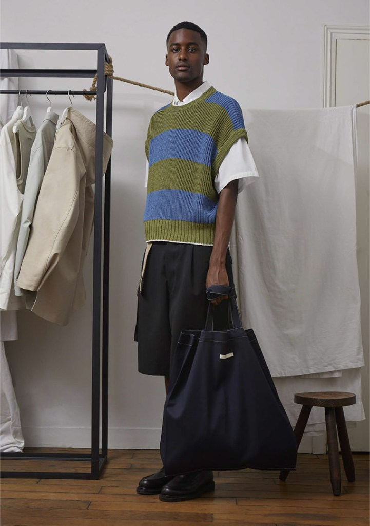A look from Uniforme men's spring 2021 collection.