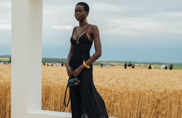 Backstage at Jacquemus RTW Spring 2021