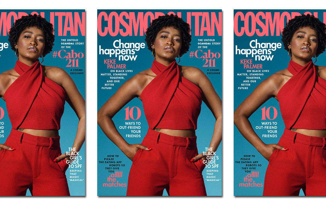 The latest Cosmo cover.