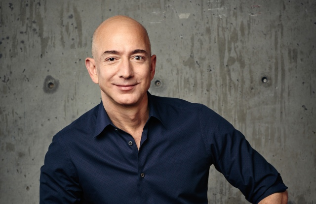 Amazon's chief executive officer Jeff Bezos.
