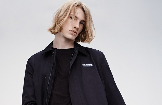 A look from the Karl Lagerfeld men's spring 2021 collection