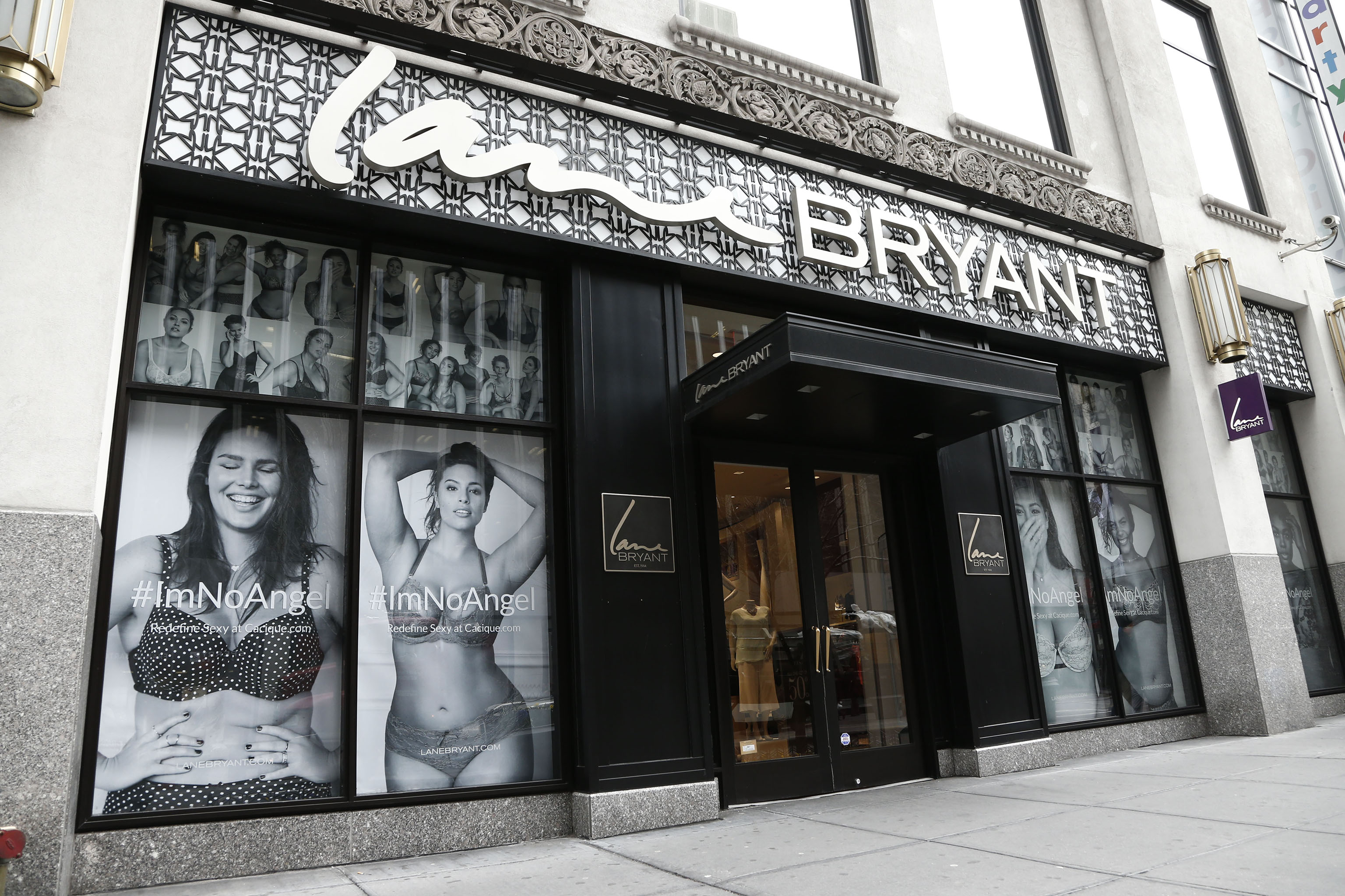 The Lane Bryant store in New York.