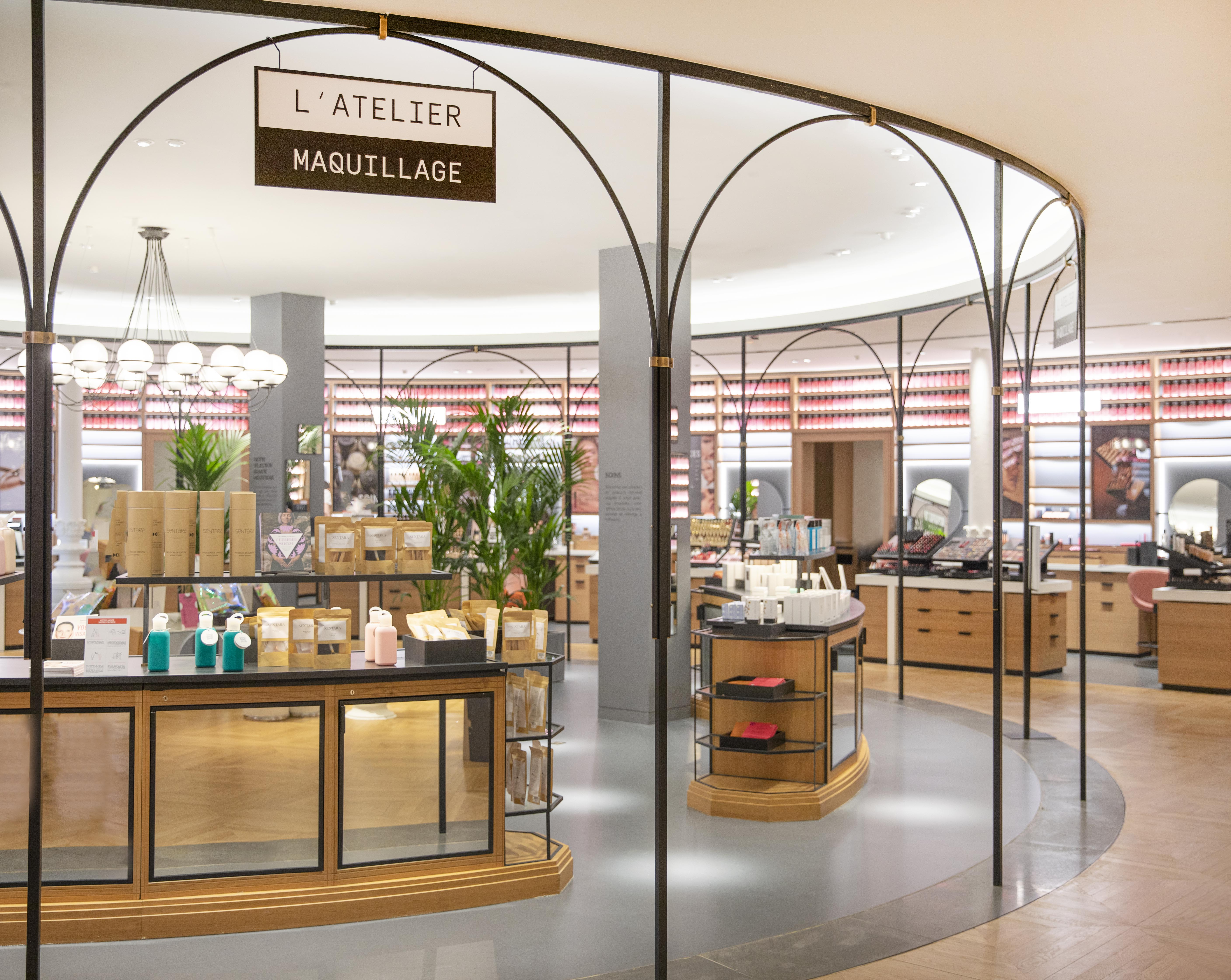 L'Atelier Maquillage at Le Bon Marché