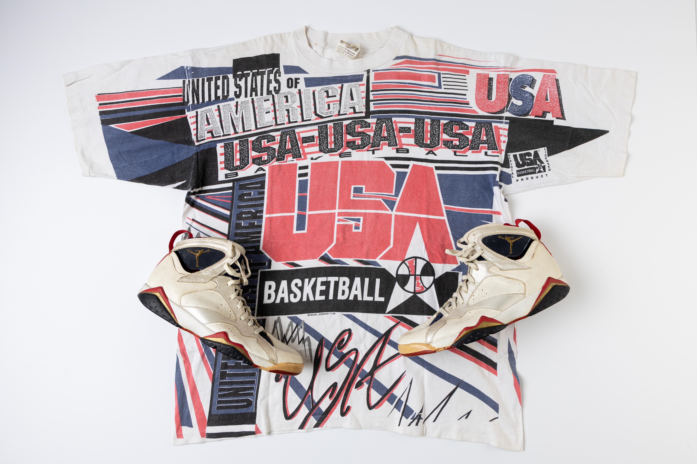 The Air Jordan VII sneakers