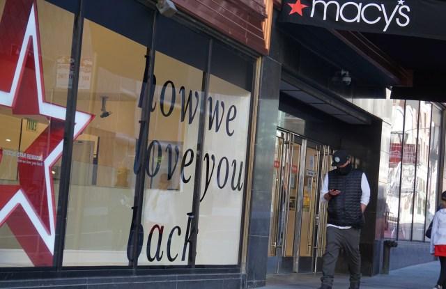 Macy's in San Francisco.