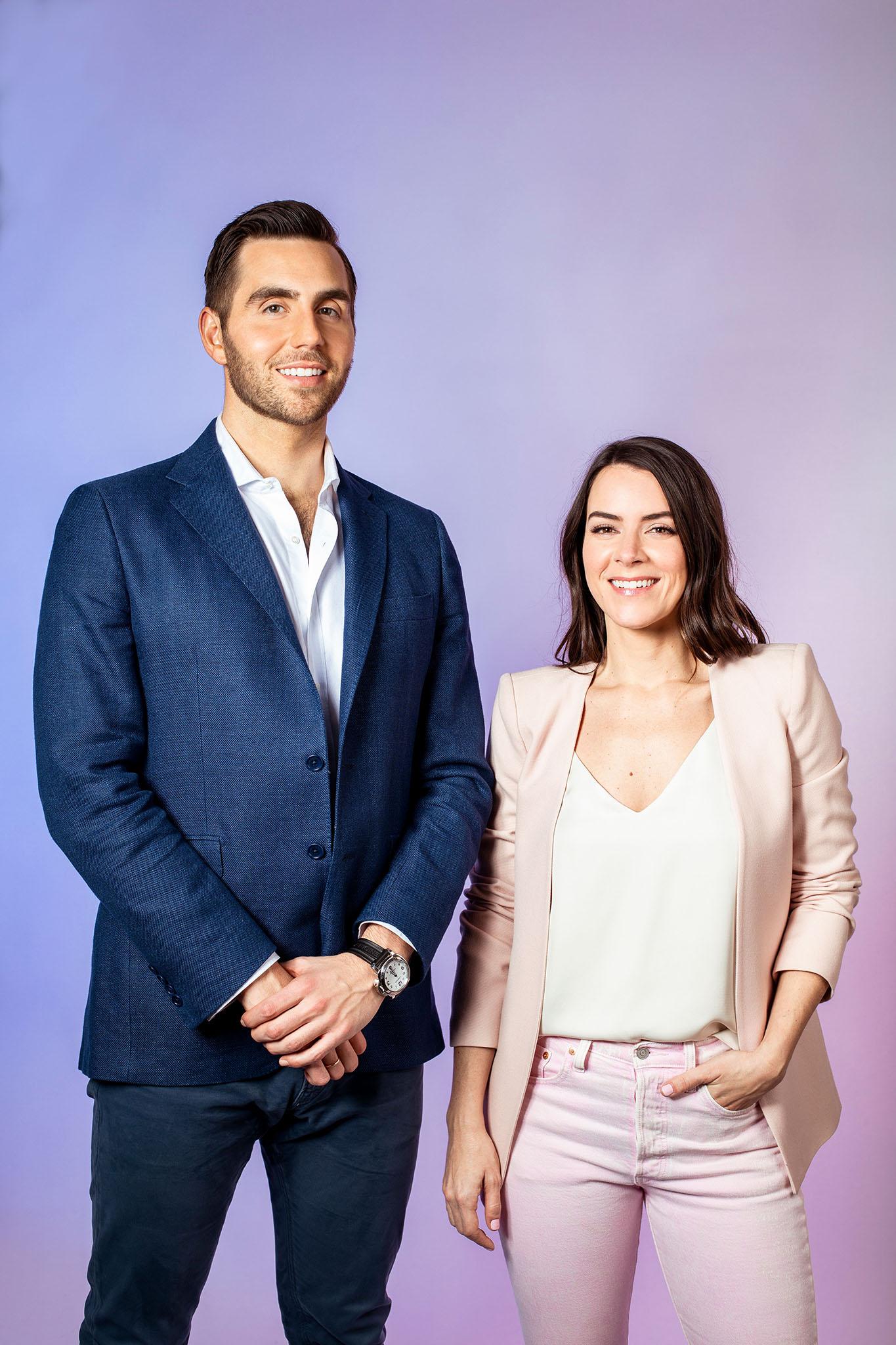 Mark Mullett and Ashley Mills