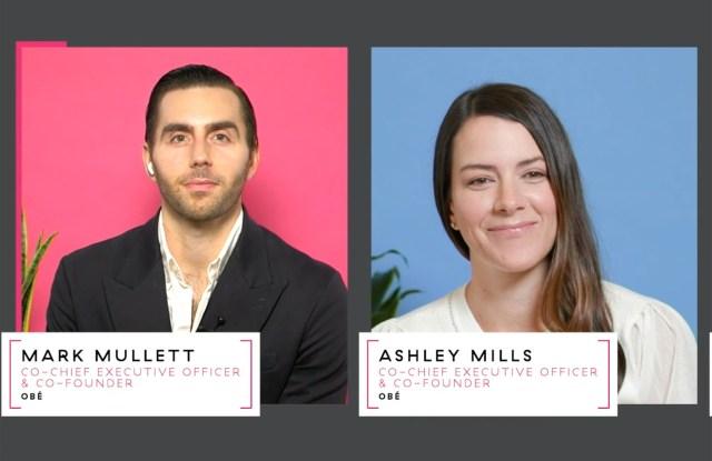 Mark Mullett and Ashley Mills speaking at the Beauty Inc. Wellnes Summit.