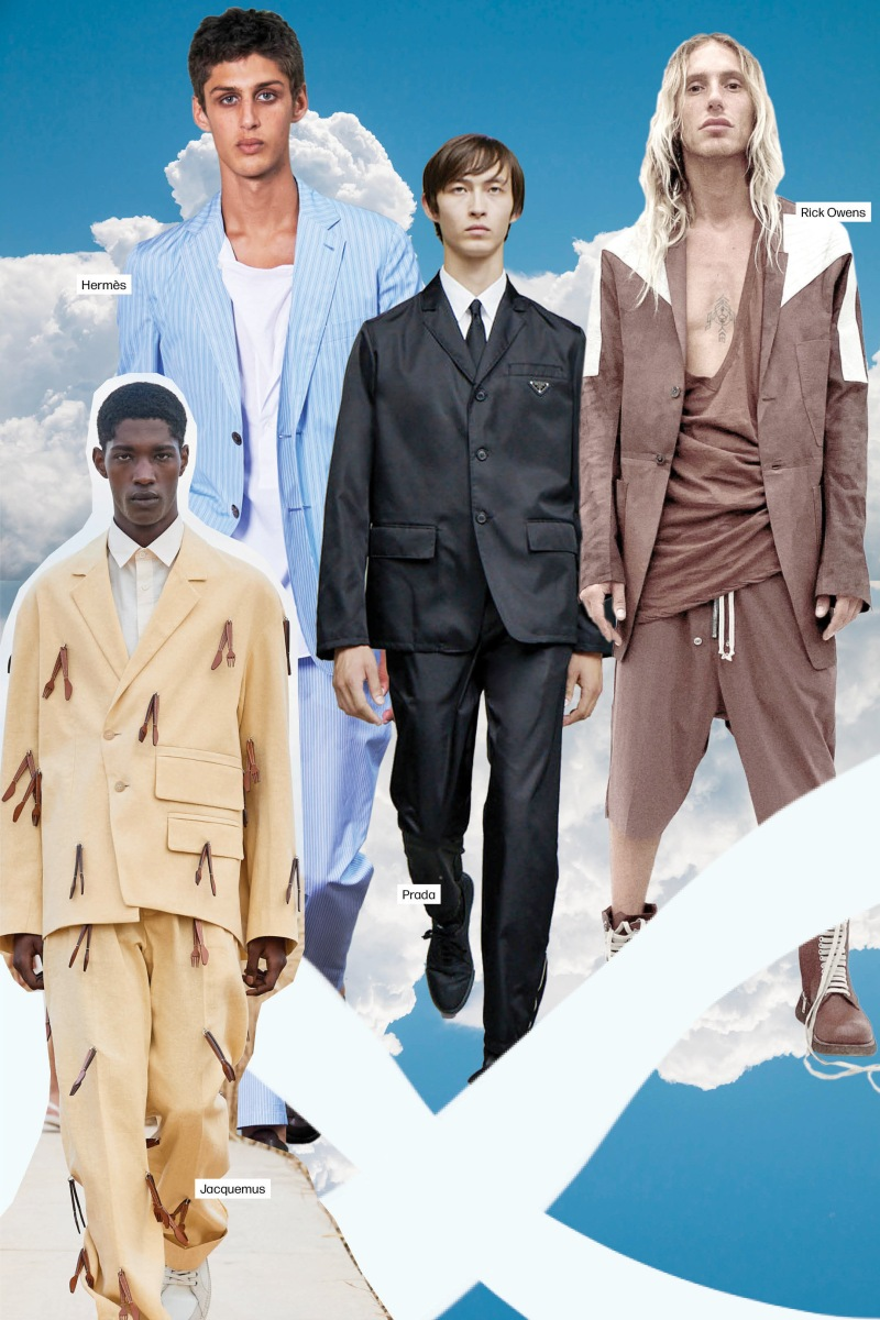 Men S Spring 2021 Fashion Trend Men S Tailoring Photos Wwd