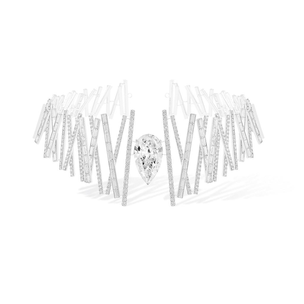 Messika's Diamond Equalizer necklace.