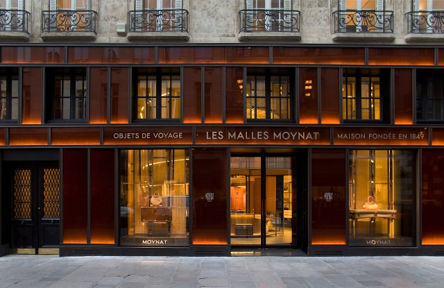 The Moynat store in Paris