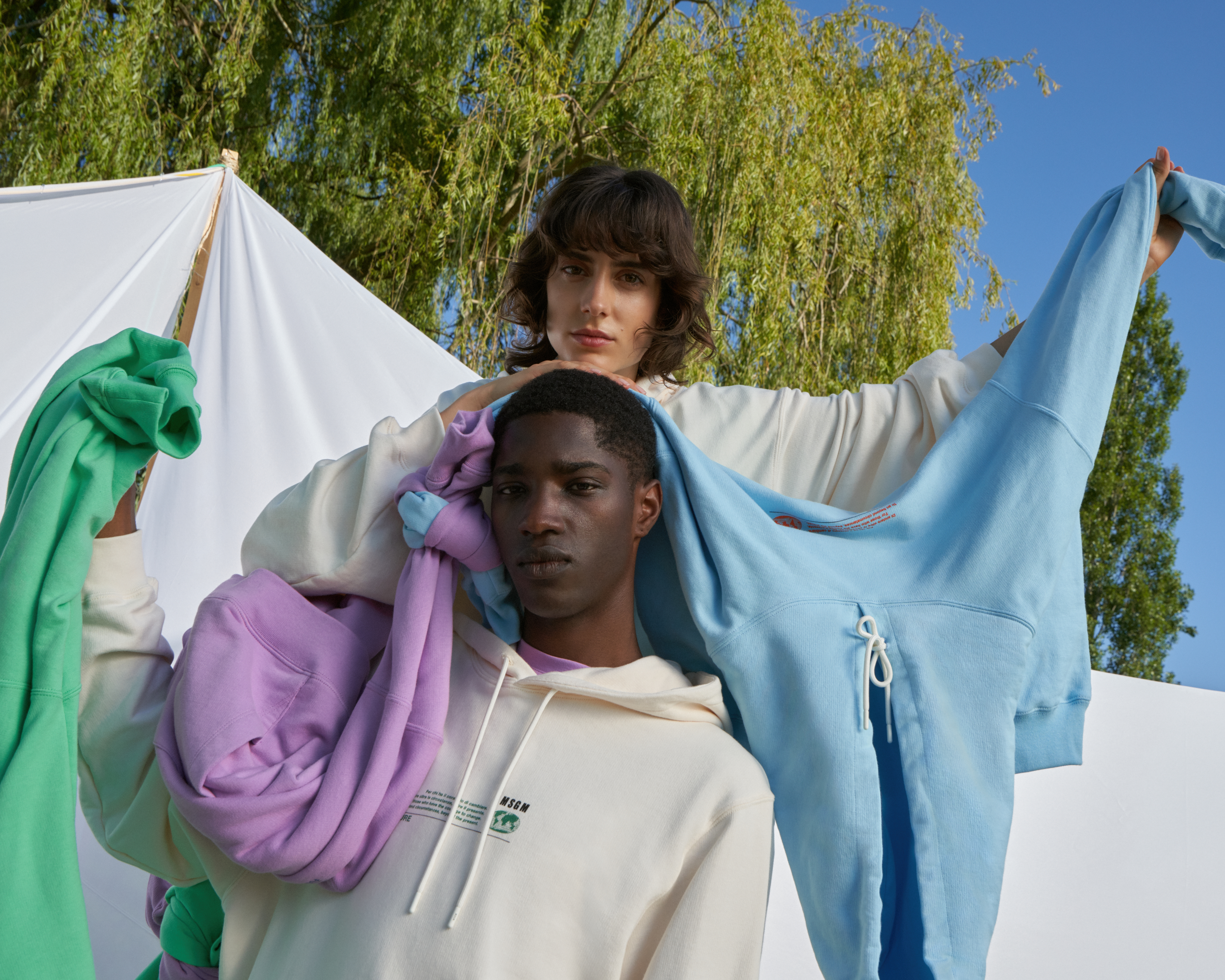 """MSGM's """"Fantastic Green"""" capsule collection."""