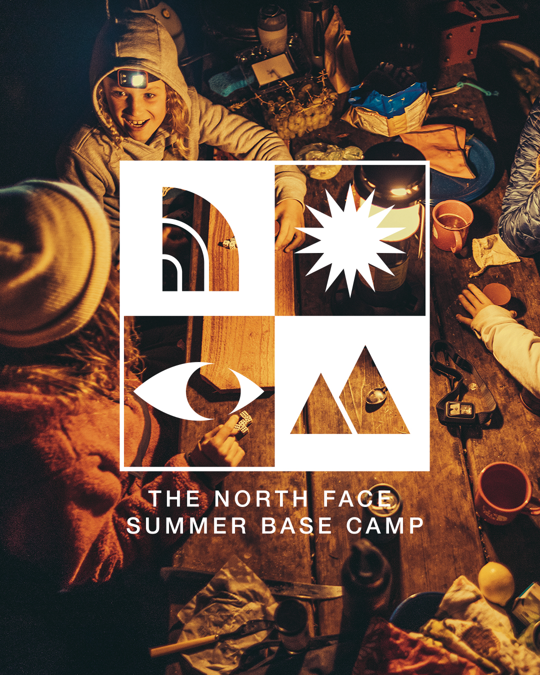 The North Face is getting children back to camp virtually.