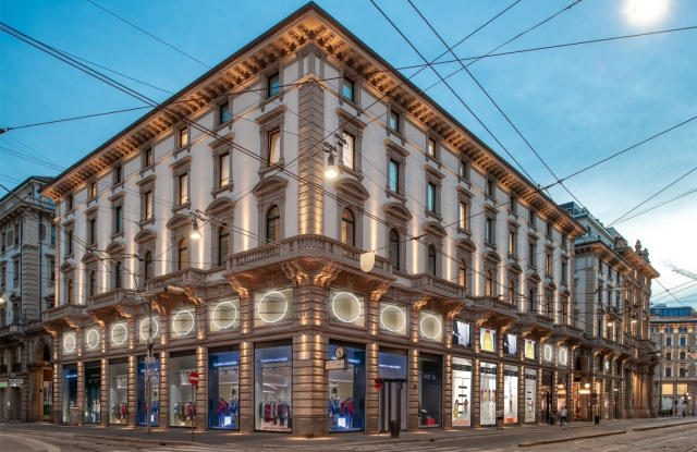 The Orefici 11 multibrand store VF Corp. will open next fall in Milan.