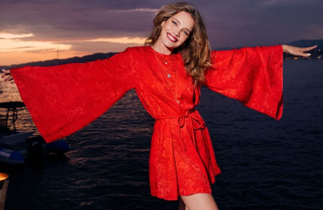 Natalia Vodianova in Cannes for Naked Heart France gala