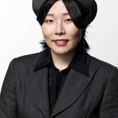 Sakura Mizutani 2020 Supima finalist. Graduating fashion designer representing FIDM / Fashion Institute of Design & Merchandising Contact: Shirley WilsonFIDMswilson@fidm.com213-840-6251(Photo: Alex J. Berliner/ABImages