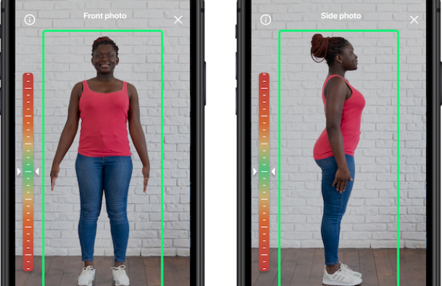 3DLook mobile fit technology scanning
