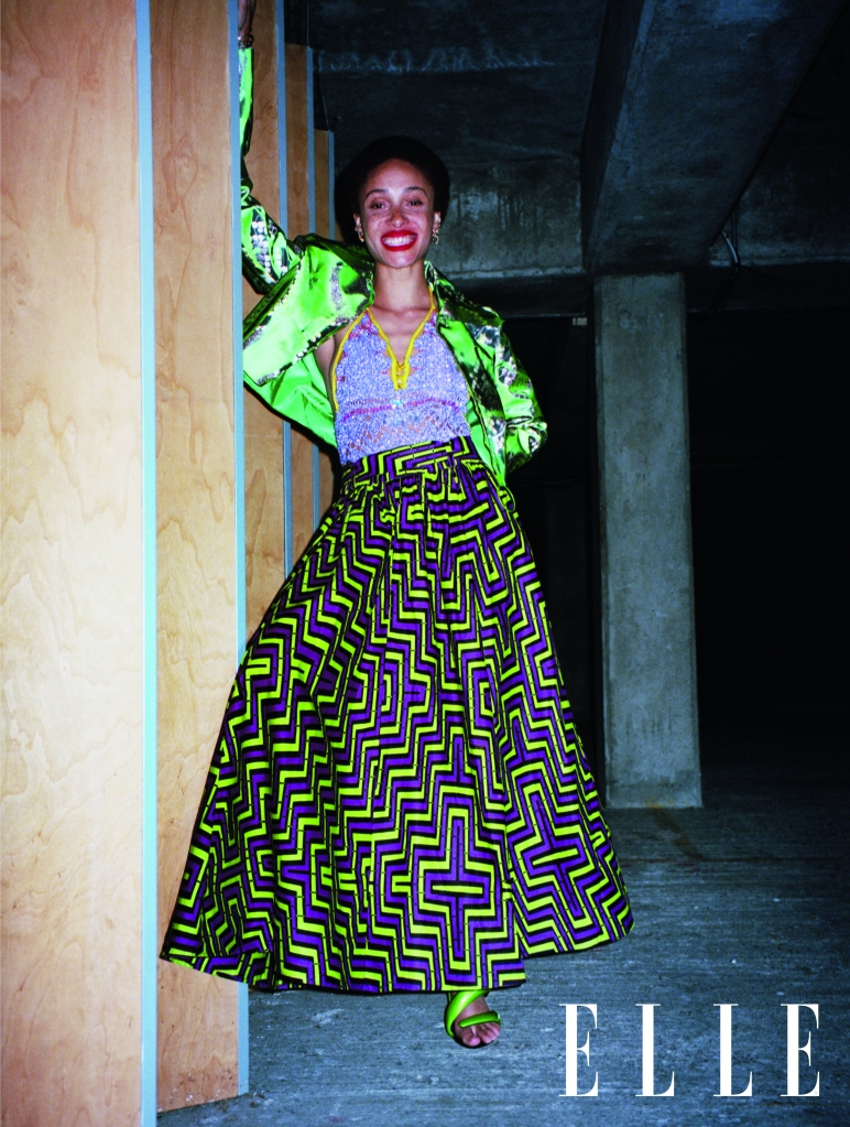 The Elle U.K. September cover story featuring Adwoa Aboah