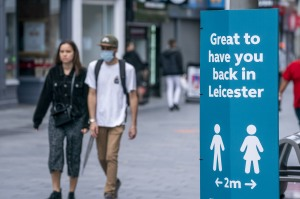 Surge in corona cases could make city first to bring back restrictions. Leicester is likely to be the first city to be put into a second local lockdown after a surge in coronavirus in some areas with a large ethnic minority population. Mayor Sir Peter Soulsby said there could be 'a return of lockdown in neighbourhoods' and work was urgently being carried out to identify precise hotspots and the scale of the problem.Action is being considered after 658 cases of coronavirus were identified in the Leicester area during the two weeks to June 16 - more than a quarter of the city's 2,494 cases so far. Shoppers wearing face masks in Leicester City Centre today. Leicester could be the first British city to go into a local lockdown after a spike in coronavirus cases in June Leicester goes back into lockdown, UK - 29 Jun 2020