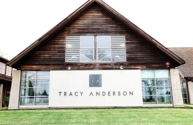 """Tracy Anderson will offer classes """"al fresco"""" outside her Water Mill location in the Hamptons."""