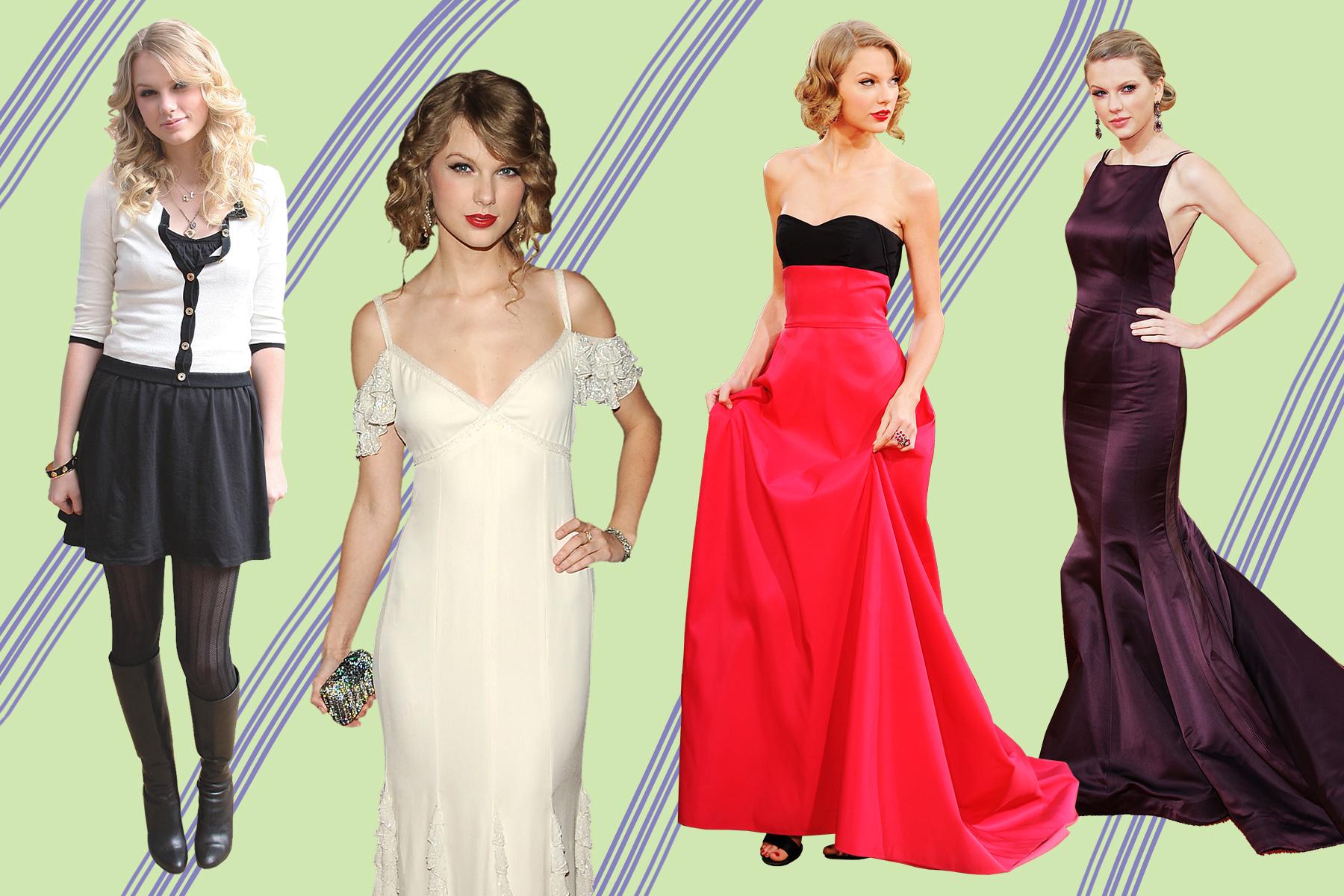 Wwd Report Card Taylor Swift S Fashion Evolution Wwd