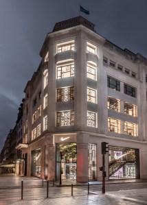 Nike's new House of Innovation on Paris's Champs-Élysées.