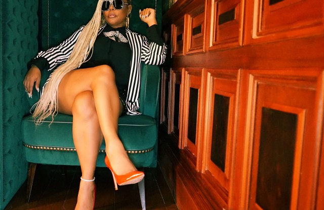 Misa Hylton, star of film The Remix: Hip Hop x Fashion