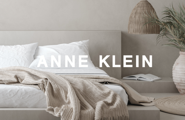 Some items from the Anne Klein Home collection.